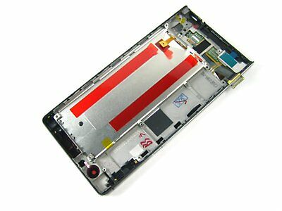 Black~Full Touch Digitizer Screen LCD Display+Frame for Huawei Ascend P6