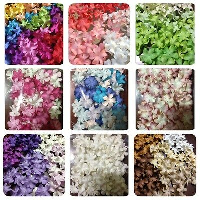50 Artificial Mulberry Paper D.I.Y flowers Petal Handmade Scrap-booking 2 cm