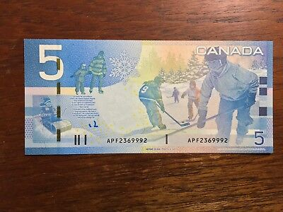 APF (2360 -2400) REPLACEMENT $5 JOURNEY CHOICE UNC CANADA BC-67aA