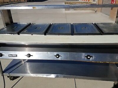 5 Well Elec. Buffet Steam Table Or Cold Serving Line..... (Serve Well Vollrath)