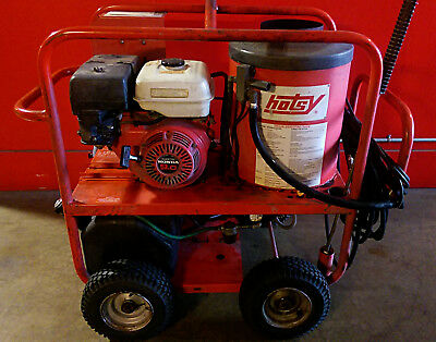 Used Hotsy 965ss Gas Engine Hot Water Pressure Washer (1.110-015.0)