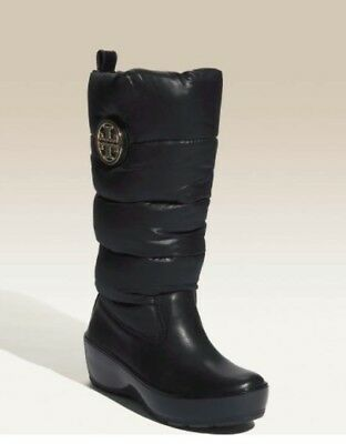 4ddb38d2bd6 TORY BURCH BLACK Puffer Winter Boots Size 8.5M -  125.00