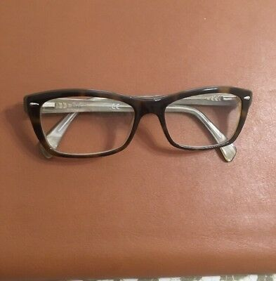 c5ac07c314 Ray Ban Eyeglasses RB5255 5075 Havana RayBan Full Rim Optical Frame 51mm