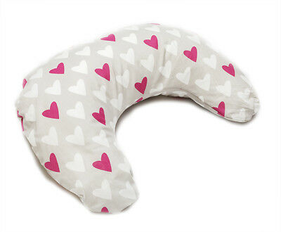 Multipurpose feeding pillow with removable cover