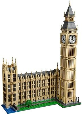 Lego Big Ben, The Worlds Best Known Clock Tower, 4,163 Pieces, Beautiful Display