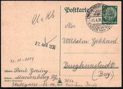 Germany Postcard -  (#958)