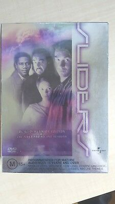 Sliders : Season 1-2 [ DVD Box Set] NEW & SEALED, Region 4, FREE Next Day Post