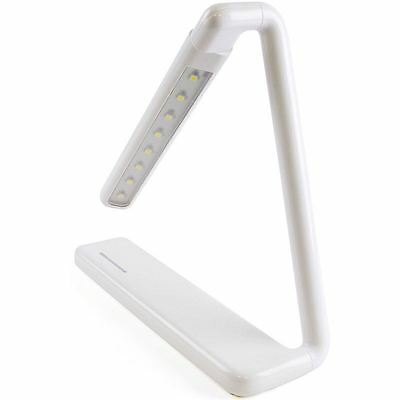 Lloytron L1616WH 2W Bright Energy Saving Foldable LED Touch Desk Lamp Dimmer New