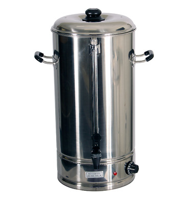 Oz Chef Hot Water Urn 20L Stainless Steel