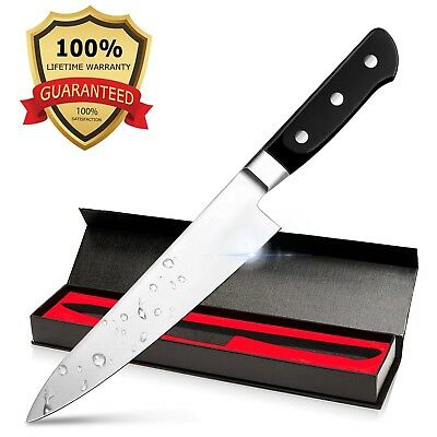 Bodyguard 8 Inch Chef's Knife - High Carbon Stainless Steel Sharp Blade Balanc