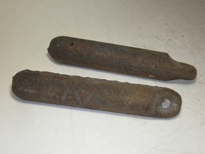 Lot of 2  Vintage Window Weights Pair x 4lb.