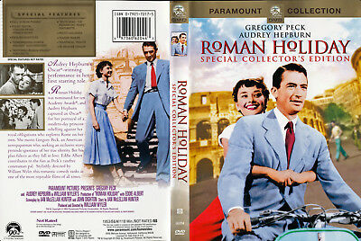 Roman Holiday DVD 1953 Collectors Edition Gregory Peck, Audrey Hepburn