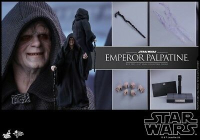 Hot Toys 1/6 MMS467 Star Wars Emperor Palpatine Figure Toy Normal Ver.Collection