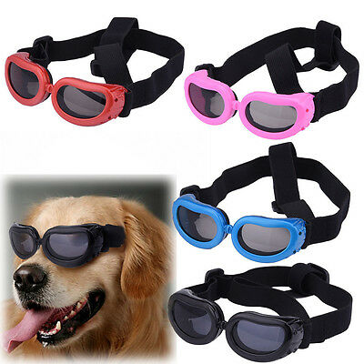 Small Doggles Dog Sunglasses Goggles UV Sun Glasses Eye Wear Protection