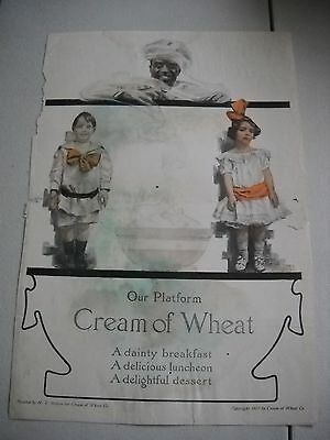 1907 Vintage Cream of Wheat Advertisement   Edward Brewer People's Home Journal