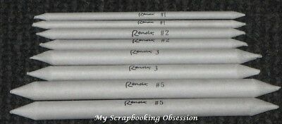 Renoir PAPER STUMPS x2 (Choose from 4 sizes) Blending Tool Drawing Mix Media/Art