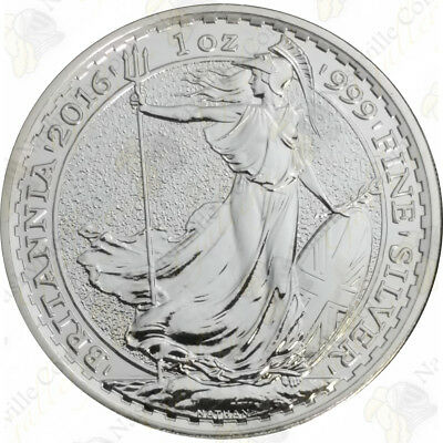 2016 Great Britain Silver Britannia - 1 oz - Uncirculated - SKU #67716