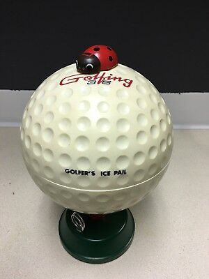 Large Golf Ball Ice Bucket - Man Cave Item