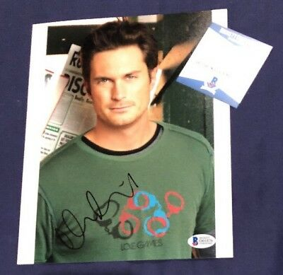 Movies Photographs Practical Oliver Hudson Signed Autographed 8x10 Photo Bas Beckett Authentic Coa