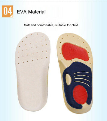 Super Children Kids Orthopedic Orthotic Shoe Insoles Inserts Pads Arch Support