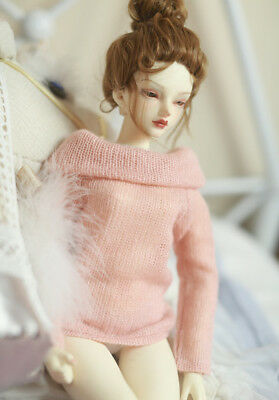 BJD clothes boat neck sweaters warm for 1/3 1/4 BJD DD SD doll accessories