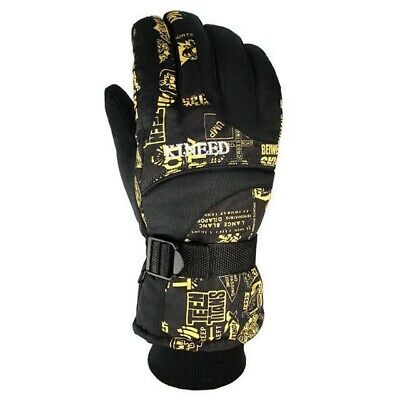 Winter Warm Windproof Ski Gloves Men Women Snowboard Skiing Gloves