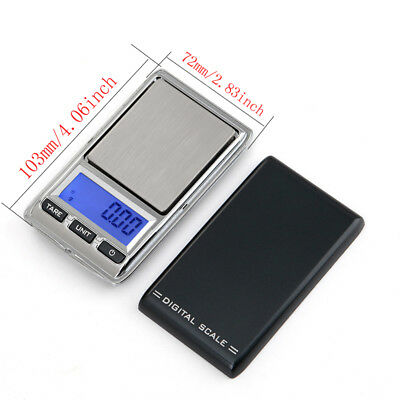 200g/500g/0.1g Portable Mini Digital LCD Electronic Pocket Micro Weight Scale