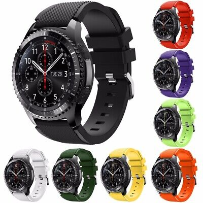New Silicone Wrist Band Strap For Samsung Gear S3 Classic / Frontier Smart Watch
