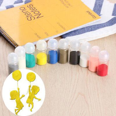 10ml Three-Dimensional Embellishments Embossing Powder Paper Craft Scrapbook
