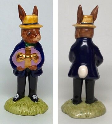 "Blue Coat - Royal Doulton Mr Bunnykins - ""At the Easter Parade"" Figurine DB18"