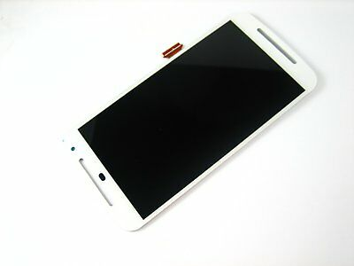 White~Full Touch Screen+LCD Display FOR Moto G2 XT1063 XT1064 XT1068