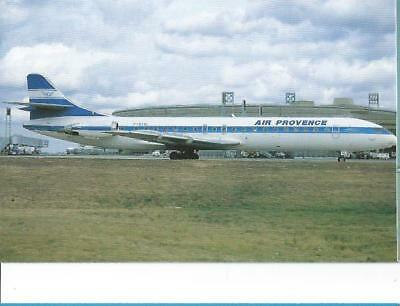 Cp Avion Caravelle 12 Air Provence F-Gcvl Sept 1992  Collect Vilain