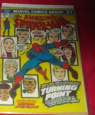 Amazing Spiderman 121 # June 1973 ..turning Point ! Re - Covered !
