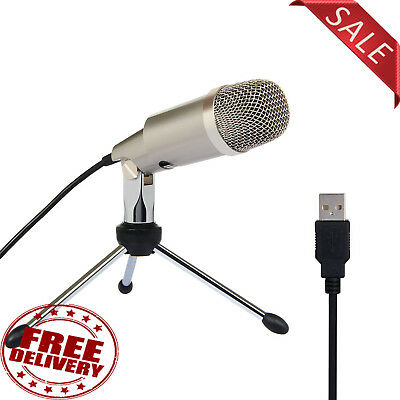 USB Microphone for PC, Laptop Gaming, Voice Recording, Home Studio, Podcast etc.