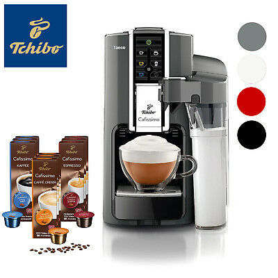 check out sports shoes lower price with TCHIBO SAECO CAFISSIMO LATTE Kaffeevollautomat + 90 Kapseln ...