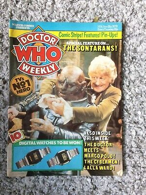 Doctor Who Weekly No7 Marvel Comic Nov 21th 1979 Dr Who