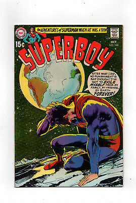 SUPERBOY  #160 (Neal Adams cover)  (Wally Wood inks)  1969