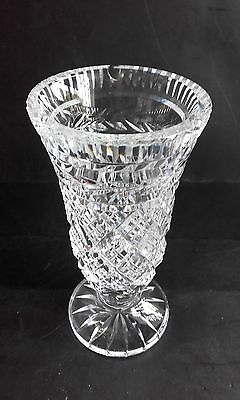 """Waterford Crystal 7"""" Vase, Imperfect"""