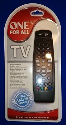 ONE FOR ALL Universal Remote 2 way  + Codes - £4 99 | PicClick UK
