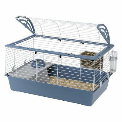 Ferplast Small Pet Cage Casita 100 for Dwarf Rabbits and Guinea Pigs