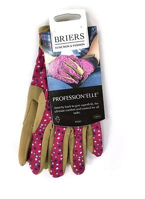 briers medium stretch Gardening Gloves professional elle. Clearance price