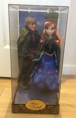 Disney Fairytale Deisgner Collection Anna and Kristoff Limited Edition Dolls NEW