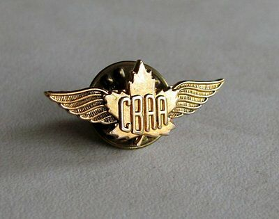 Canadian Business Aviation Association CBAA Wing Lapel Pin