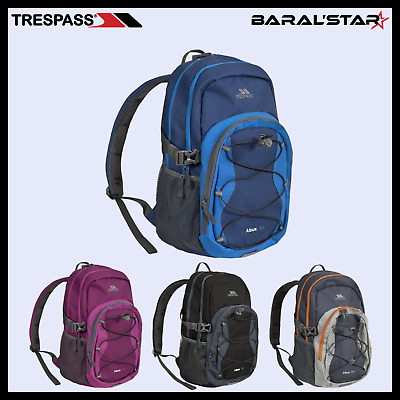 Trespass Albus Backpack Camping Travel Hiking Outdoor Rucksack Bag 30 Litre