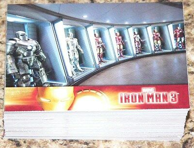 Iron Man 3 Complete 60 card base set by Upper Deck in 2013