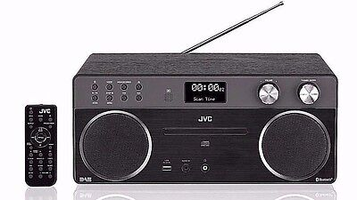 JVC RD-D90 Wireless All in One Hi-Fi System Bluetooth CD Player DAB/FM Radio