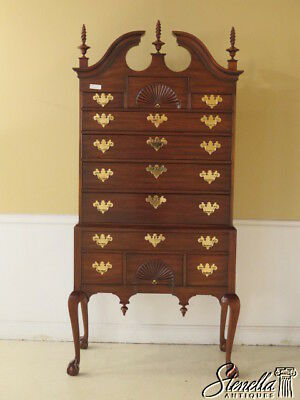 L40481EC:  HENKEL HARRIS Ball -N- Claw SPNEA Mahogany Highboy