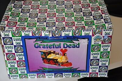 Vintage Grateful Dead Train Cookie Jar 1999 Vandor Limited Edition New in Box!