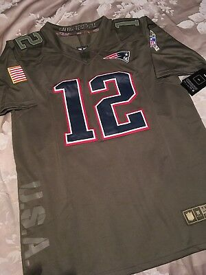 Cheap BNWT TOM BRADY Salute to Service New England Patriots NFL Jersey S
