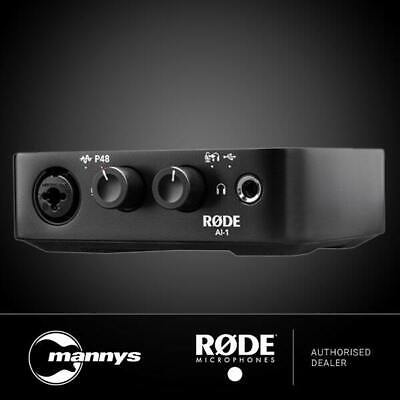 Rode AI1 Studio-Quality Audio Interface & Headphone Amplifier